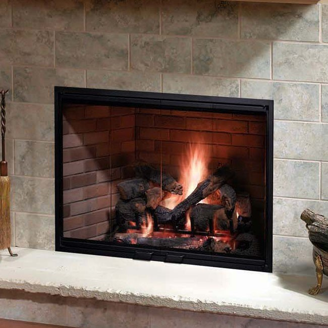 indoor bring prefabricated fireplace built in wall